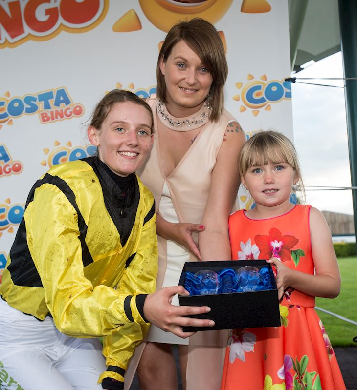 2017 Inspirational Lady Darcie Safill with mum Hayley and jockey Ella McCain.jpg