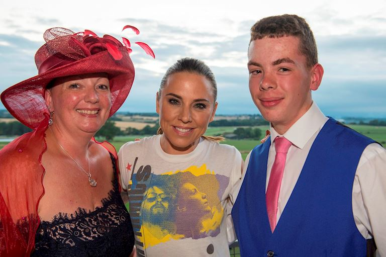 2018 Inspirational Lady Kerryanne Wilde, Mel C and Bailey Wilde.JPG