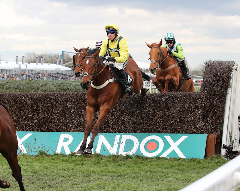 (1) Lostintranslation and Robbie Power win at Aintree in April 2019.JPG
