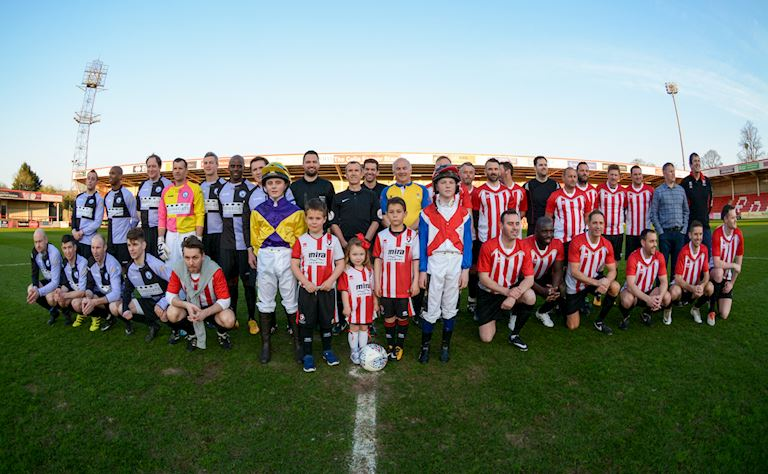 AP McCoy Charity Football Match | What's On | Cheltenham