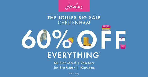 Joules Sale at Cheltenham Racecourse