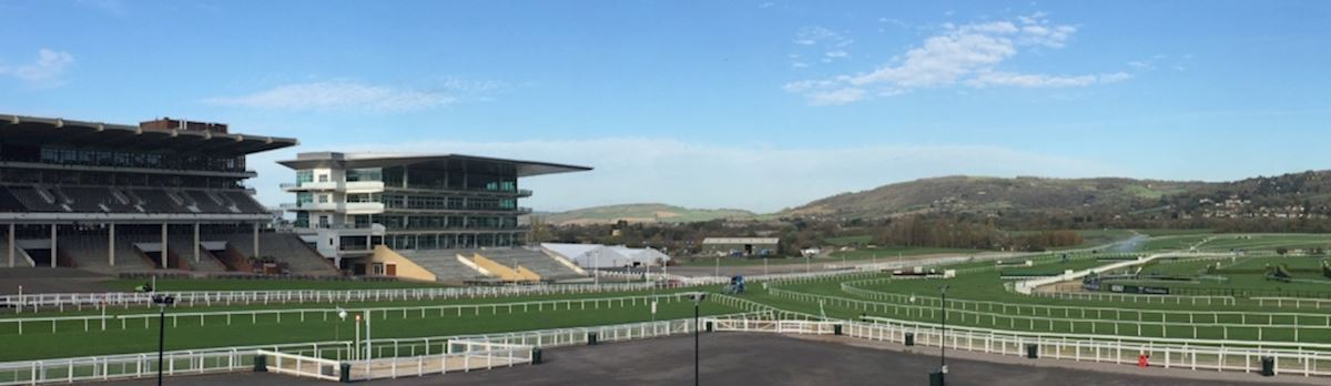 View from Best Mate Enclosure at Cheltenham Racecourse