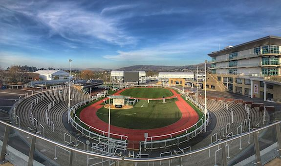 The Parade Ring at Cheltenham Racecourse