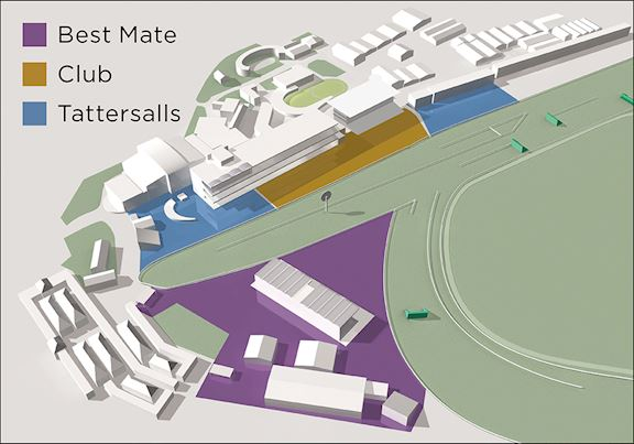 Cheltenham Racecourse Enclosure Map