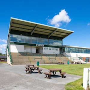 The Grandstand at Exeter Racecourse