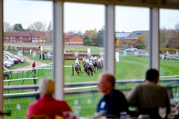 View from Warwick Racecourses 1707 Restaurant