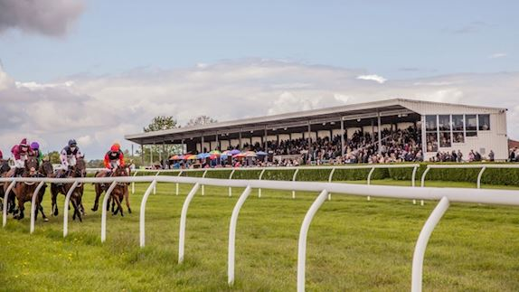 Grandstand Enclosure at Wincanton Racecourse