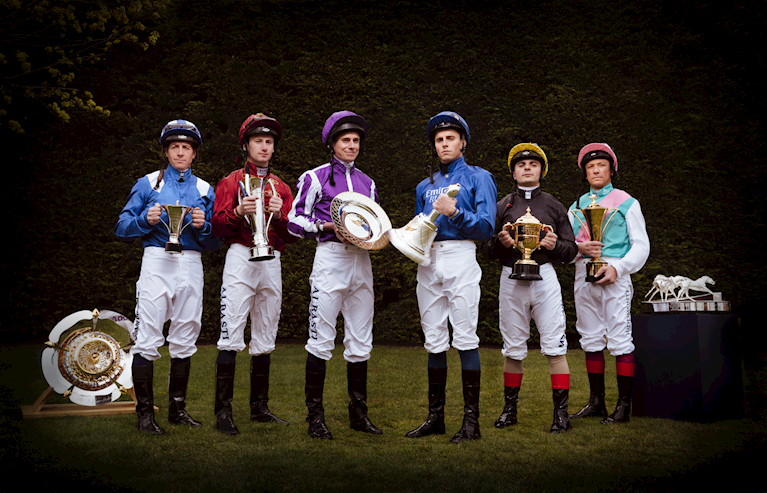 QIPCO British Champions Series Jockeys and trophies - Epsom.png