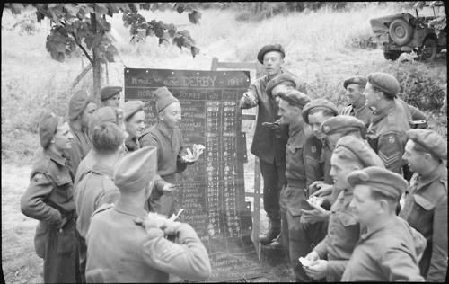 Troops Betting on Epsom Derby in Normandy 17.06.44.jpg