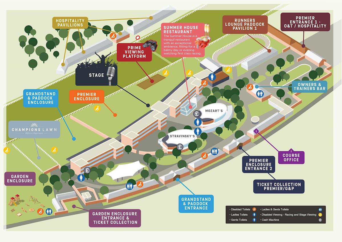 Newmarket July Course Map | Plan Your Day | Newmarket